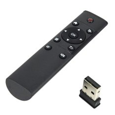 Thiết bị điều khiển đa dụng Remote kiêm chuột không dây 2.4Ghz Speed (Đen)