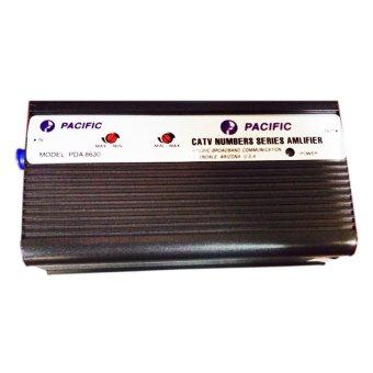 Thiết bị khuếch đại tín hiệu truyền hình cáp PACIFIC PDA8630 (Đen)