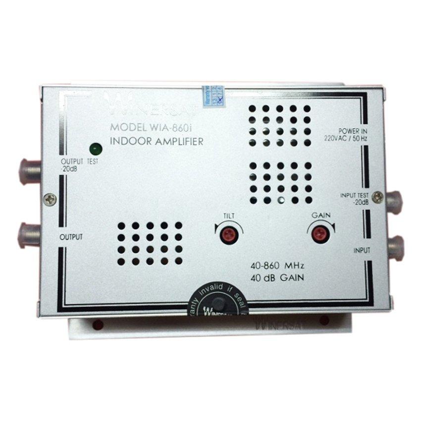 Thiết bị khuếch đại truyền hình cáp WINERSAT WIN860I (Bạc)