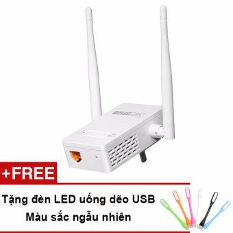 Thiết bị mở rộng sóng WiFi TOTOLINK EX200 (Trắng) Tặng đèn LED USB - Hãng phân phối chính thức