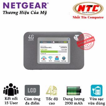 Thiết bị phát wifi 4G Netgear Aircard 782S tốc độ cao - có LCD cảm ứng (đen)