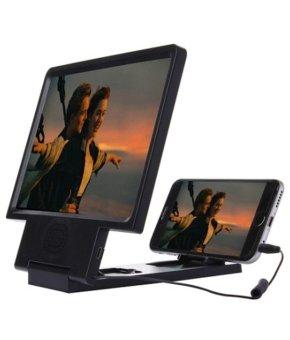 Thiết bị phóng to màn hình điện thoại 3D (Đen)