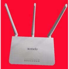 Thiết bị Thu Phát sóng Wifi Tenda F3 (3 ăng ten – màu trắng) tốc độ 300Mbps