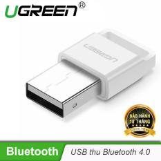 Thiết bị USB thu Bluetooth 4.0 dùng trên máy tính để bàn hoặc laptop UGREEN US192 30443 – Hãng phân phối chính thức