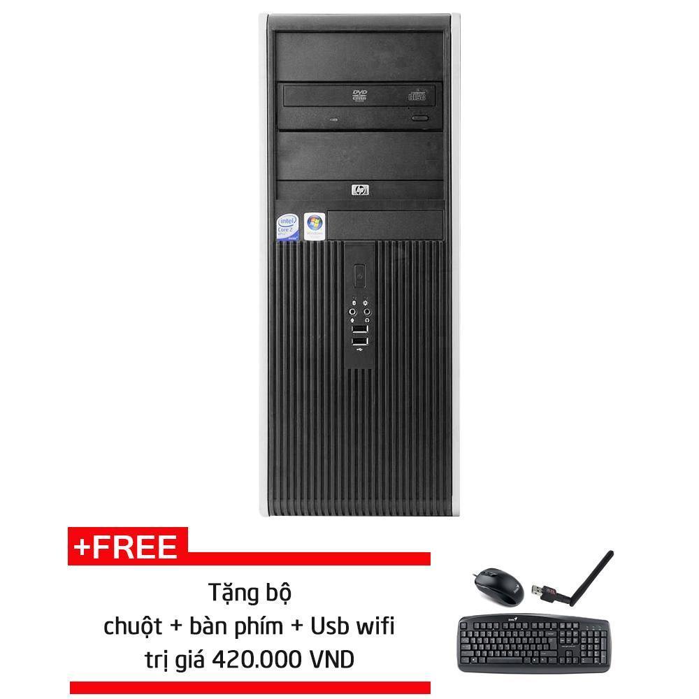 Thùng CPU đồng bộ HP DC7800 MT CPU E8400/ 8GB/ SSD 120GB/ HDD 500GB + Quà Tặng- Hàng Nhập Khẩu