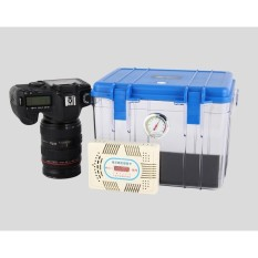 Thùng hộp chống ẩm Eirmai R10 12 lít tích hợp ẩm kế và máy hút ẩm