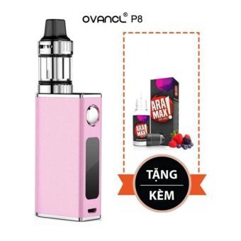 Thuốc lá điện tử 50W siêu khói OVANCL P8 Box VAPE KIT(Pink) – Hàng nhập khẩu