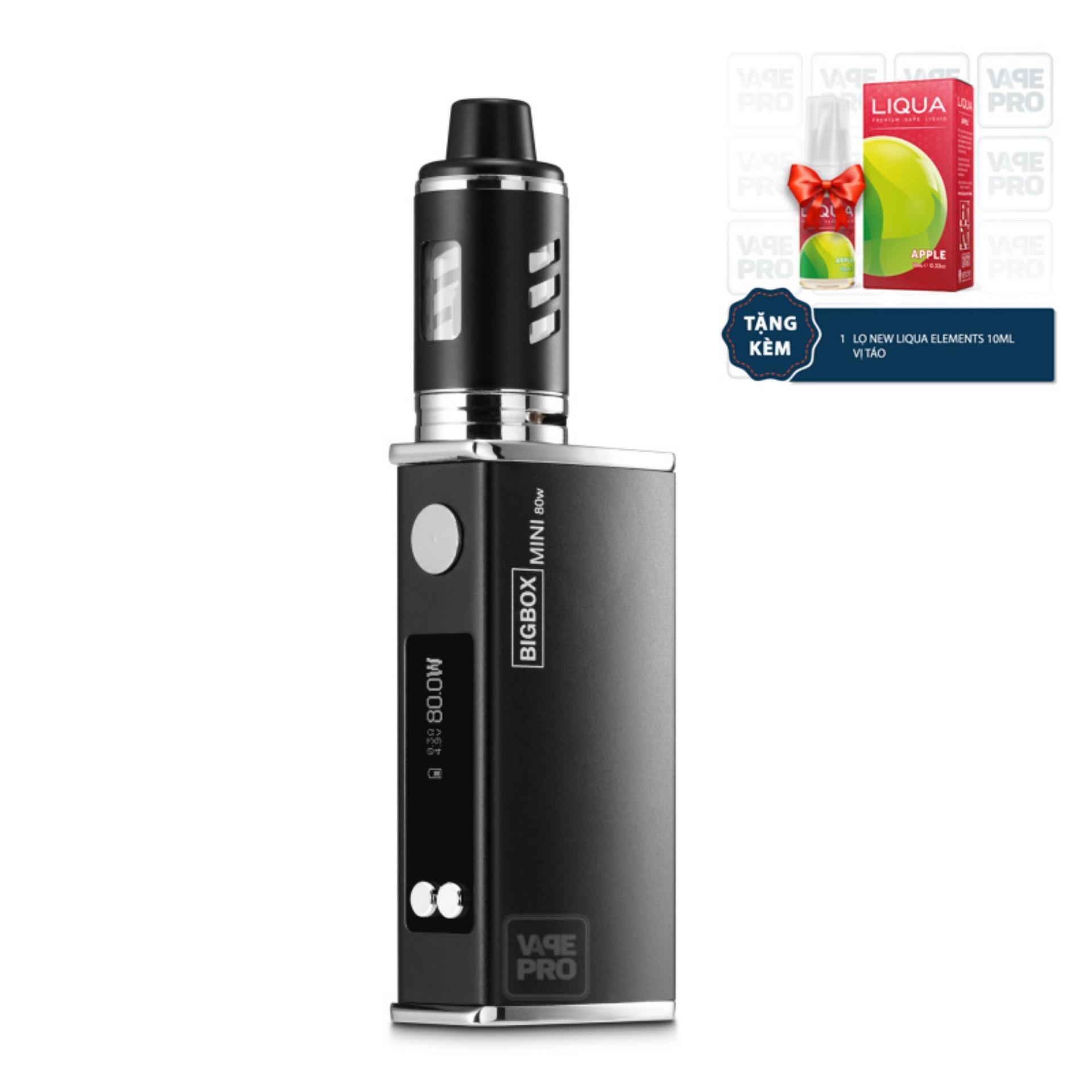 Thuốc lá điện tử Vape Siêu khói BIGBOX Mini 80W Kit (Black)