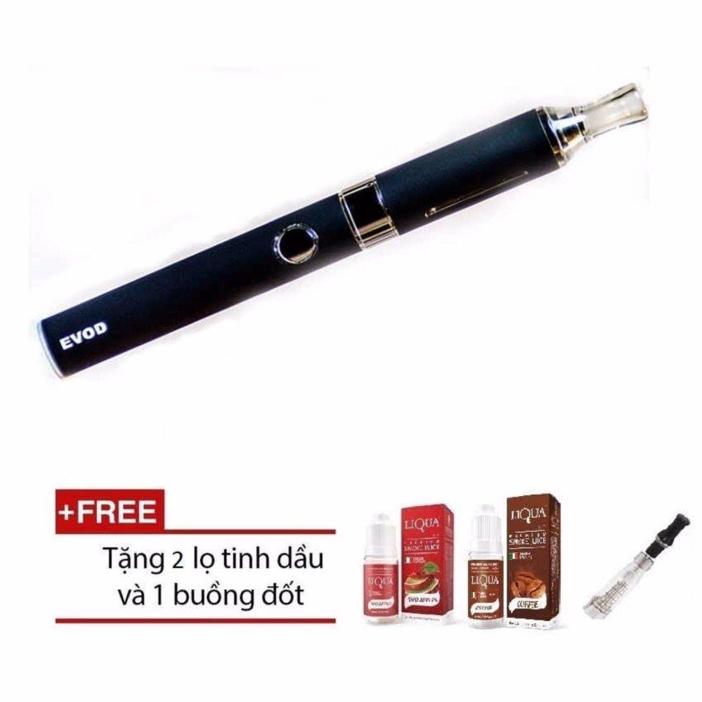 Thuốc lá Shisha điện tử Vape Evod EGO BLUE Cao cấp + Tặng kèm 2 hộp tinh dầu 10ml và 01 buồng đốt CE dự phòng