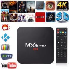 Nơi Bán Tivi Box MXQ-4K Pro Với Android 6.11 Siêu Mạnh SIêu Nhanh Phiên Bản 8/2017 (Khuyến Mại Chuột Không Dây)
