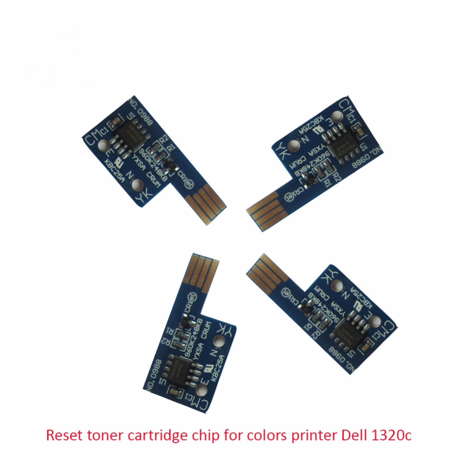 toner chip reset printer Dell 1320c