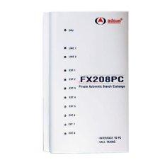 Tổng đài điện thoại Adsun FX208PC (2 trung kế – 8 máy nhánh)