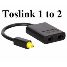Toslink 1 to 2 chia cổng Quang Audio 1 ra 2 cao cấp giá rẻ
