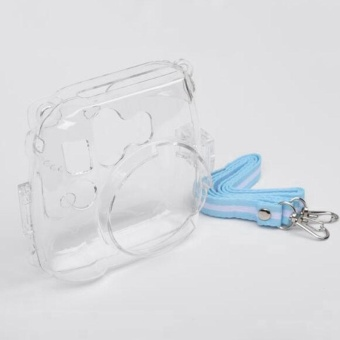 Transparent Shell Case Cover Bag For Fuji Fujifilm Instax Mini 8Camera - intl - 2
