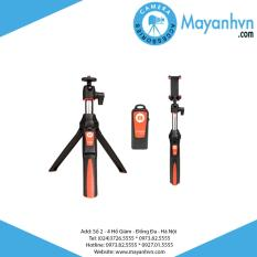 Tripod cho điện thoại Mefoto MK-10 (Đen phối cam)