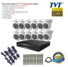 Trọn bộ 12 camera quan sát TVT 2 Megapixel TD-7520AS FULL HD1080