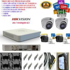 Trọn bộ 4 Camera ULTRA HD 3 Megapixel và phụ kiện