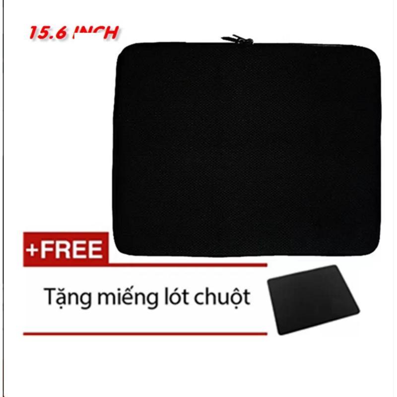 Bảng giá Túi Chống Sốc cao cấp Cho Laptop 15.6 Inch (đen) + Tặng Bàn Di Chuột siêu đẹp(đen) Phong Vũ