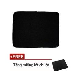 Túi chống sốc laptop 14 inch (Đen) +Tặng miếng lót chuột