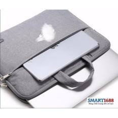 Túi xách đựng macbook 13 inch chống sốc và các ngăn tiện dụng
