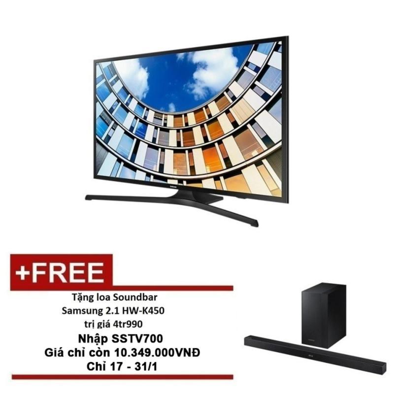 TV LED Samsung 43 inch Full HD - Model UA43M5100AK (Đen) + Tặng Loa Thanh Soundbar K450 chính hãng