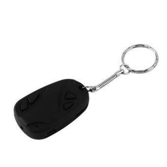 UINN Portable Good Quality HD Car keychain Style Micro camera Mini DVBlack - intl