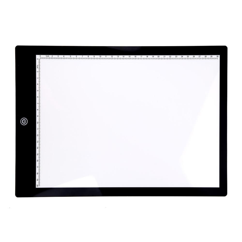 Ultra A4 Slim Light Box Touch LED Tracing Art Graphic Pad Copy Board – intl