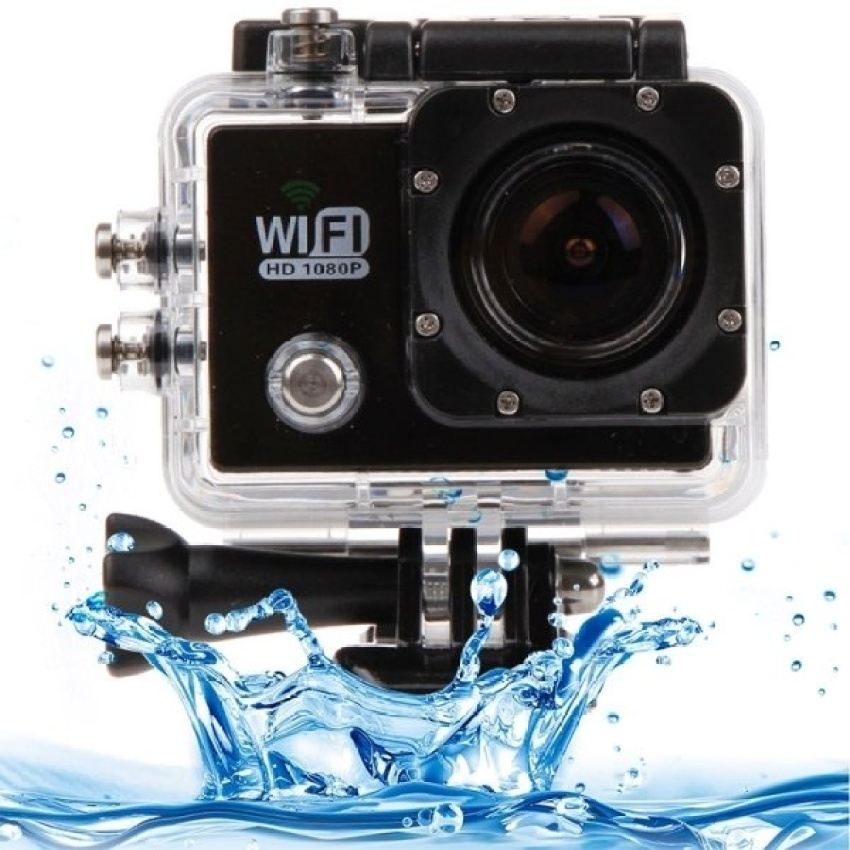 Underwater Waterproof Housing Protective Case Kits for SJCAM SJ6000/ SJ6000 WiFi – intl