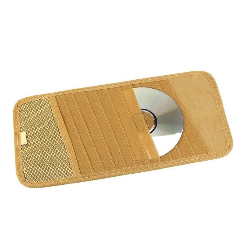 Bảng giá Universal 12 Disk CD DVD Auto Car Sun Visor Holder Storage Organizer Case Black - intl Phong Vũ