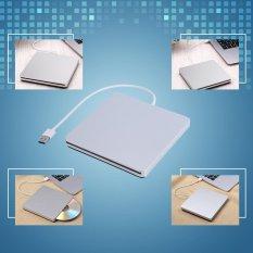 Universial USB 3.0 Bên Ngoài DVD/CD-RW Ổ Đốt Slim Di Động Driver Cho Mac Apple-quốc tế