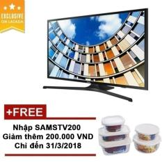 Chỗ nào bán TV LED Samsung 43 inch Full HD – Model UA43M5100AK (Đen) – Hãng Phân phối chính thức + Bộ Quà Samsung Lock&Lock