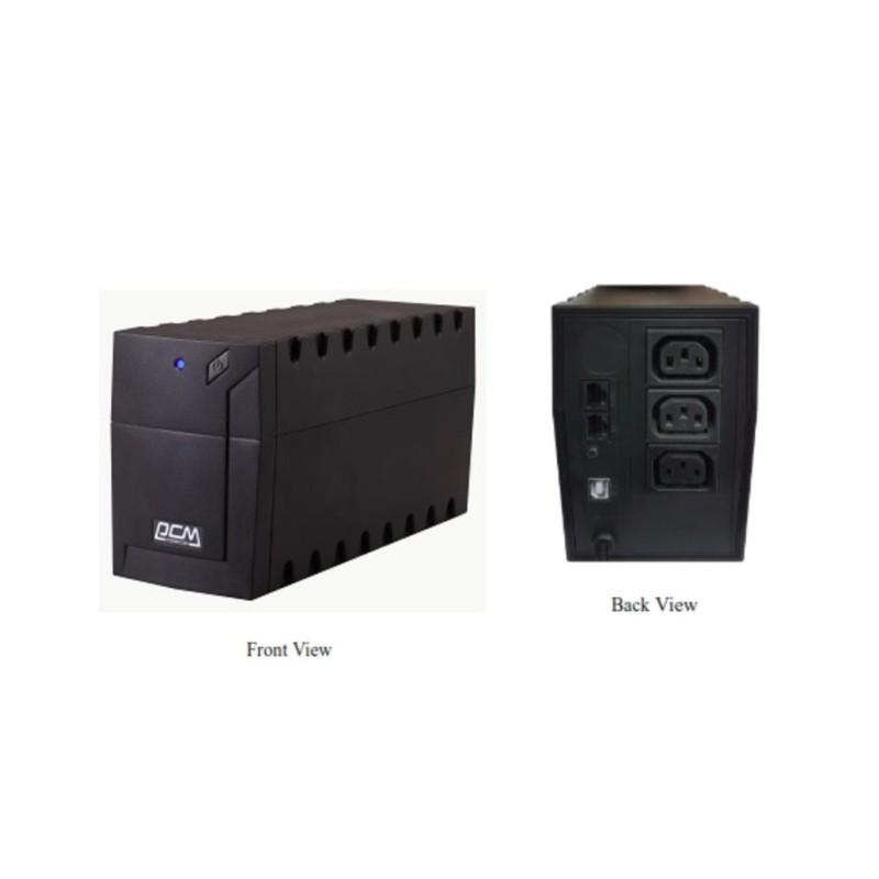 Bảng giá UPS Powercom 600VA Line Interactive RPT-600AP Phong Vũ