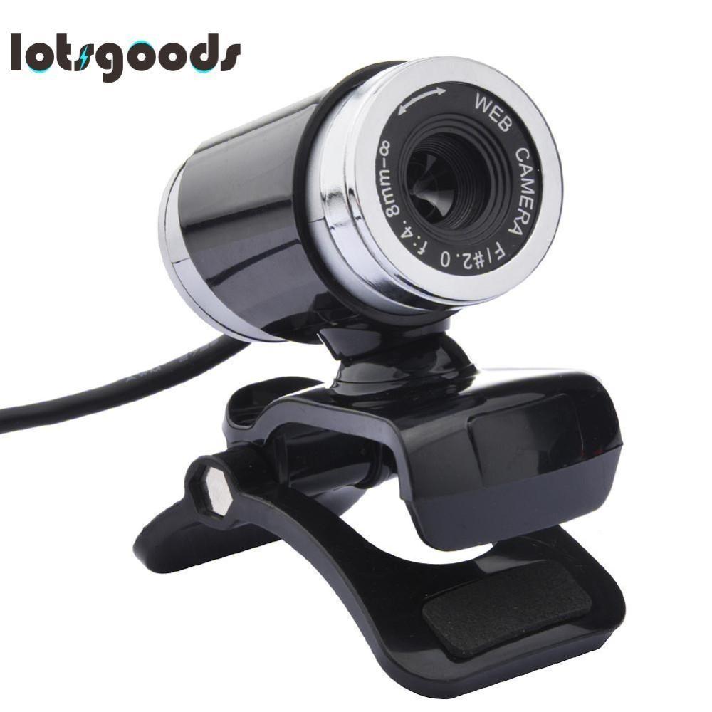 USB 12MP HD Webcam Máy Tính Camera có MIC (Màu Đen)-quốc tế Đang Bán Tại lotsgoods