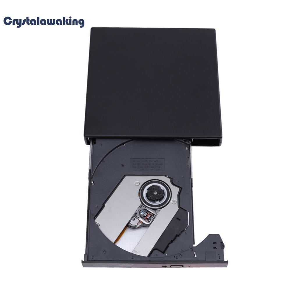 Ổ ghi CD-RW bên ngoài USB 2.0 CD DVD ROM Combo Writer cho PC Máy tính - intl