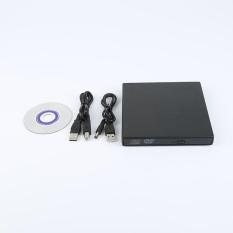 USB 2.0 Bên Ngoài CD Ổ ĐĨA DVD với Combo CD-RW Đốt Đầu Đọc Đen-quốc tế