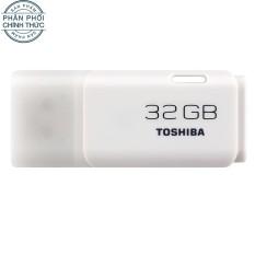 USB 2.0 Toshiba Hayabusa 32GB (Trắng) – Hãng phân phối chính thức