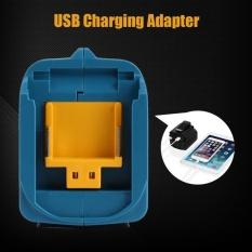 Bộ Adapter Sạc USB cho ADP05 Makita BL1815 BL1830 BL1840 BL1850 1415 14-18 v (Màu Xanh Dương)-quốc tế