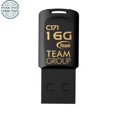 USB chống nước TEAM C171 16GB (Đen) - Hãng phân phối chính thức