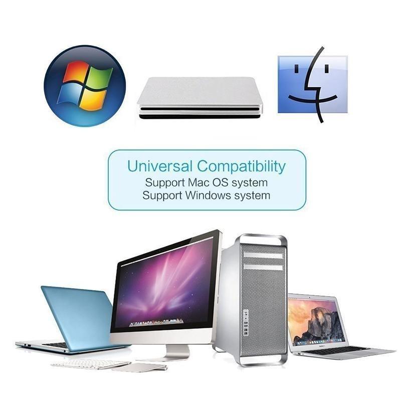 Bảng giá USB External Slot DVD CD Mobile Drive Superdrive Burner for Apple Macbook Pro - intl Phong Vũ