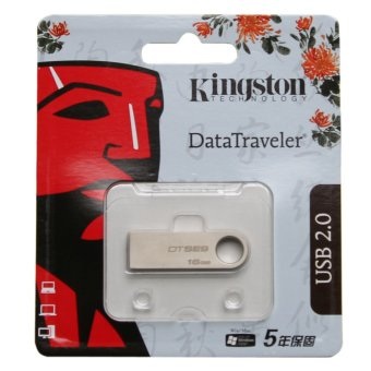 USB Flash 2.0 Kingston DTSE9 16Gb (Bạc)