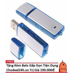 USB ghi âm chuyên nghiệp 8GB cho deal 24h + Tặng kèm balo gấp gọn du lịch