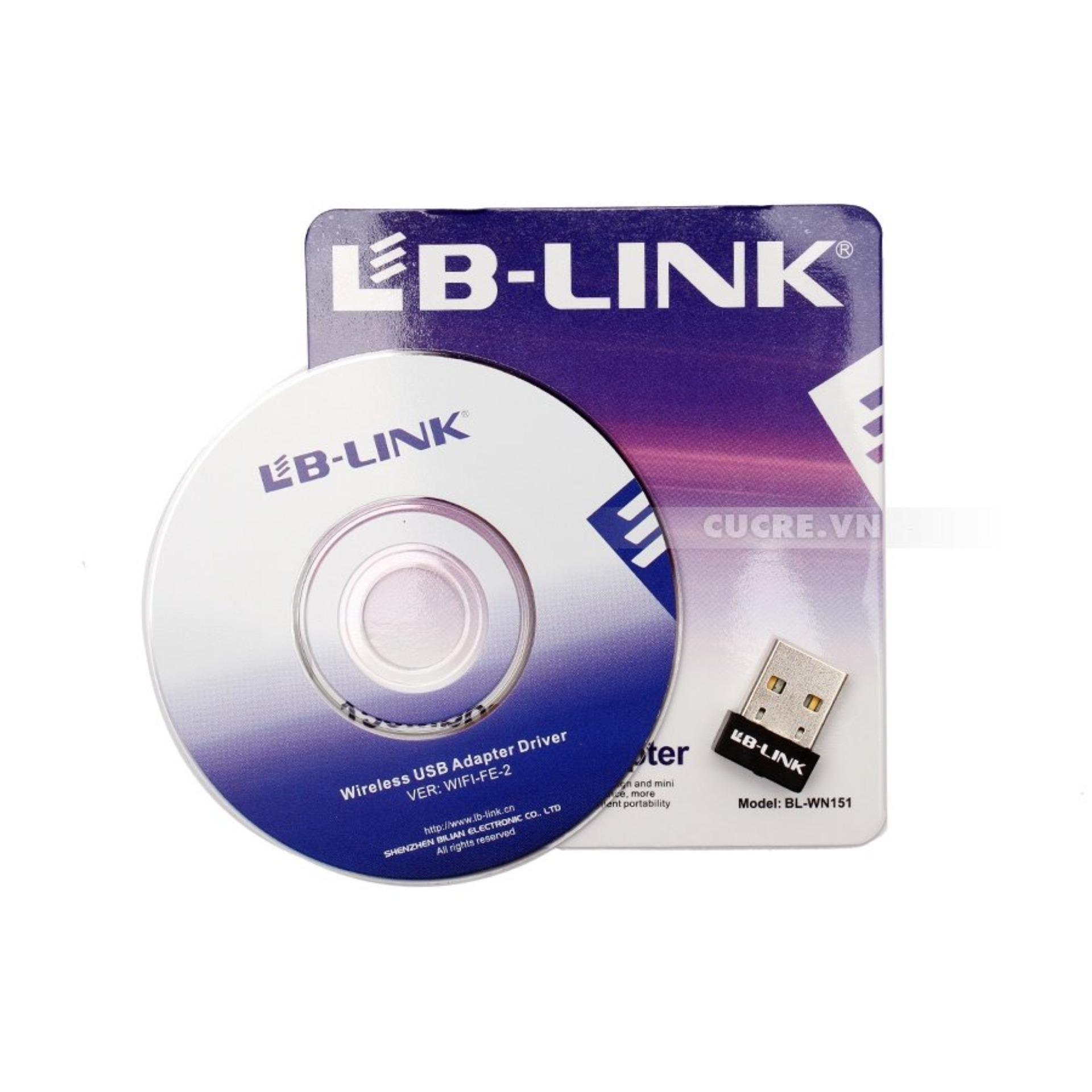 USB LB-Link thu wifi cho laptop máy bàn