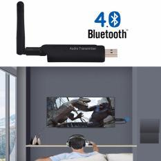 USB Bluetooth 4.1 BP05 phát âm thanh từ tivi, laptop tới amply, loa, tai nghe bluetooth (Đen)