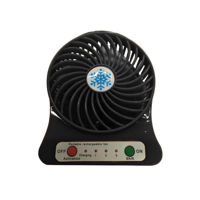 Bảng giá USB Powered Desktop Cooling Desk Fan 3 Speed w/Light Emergency For Computer PC - intl Phong Vũ
