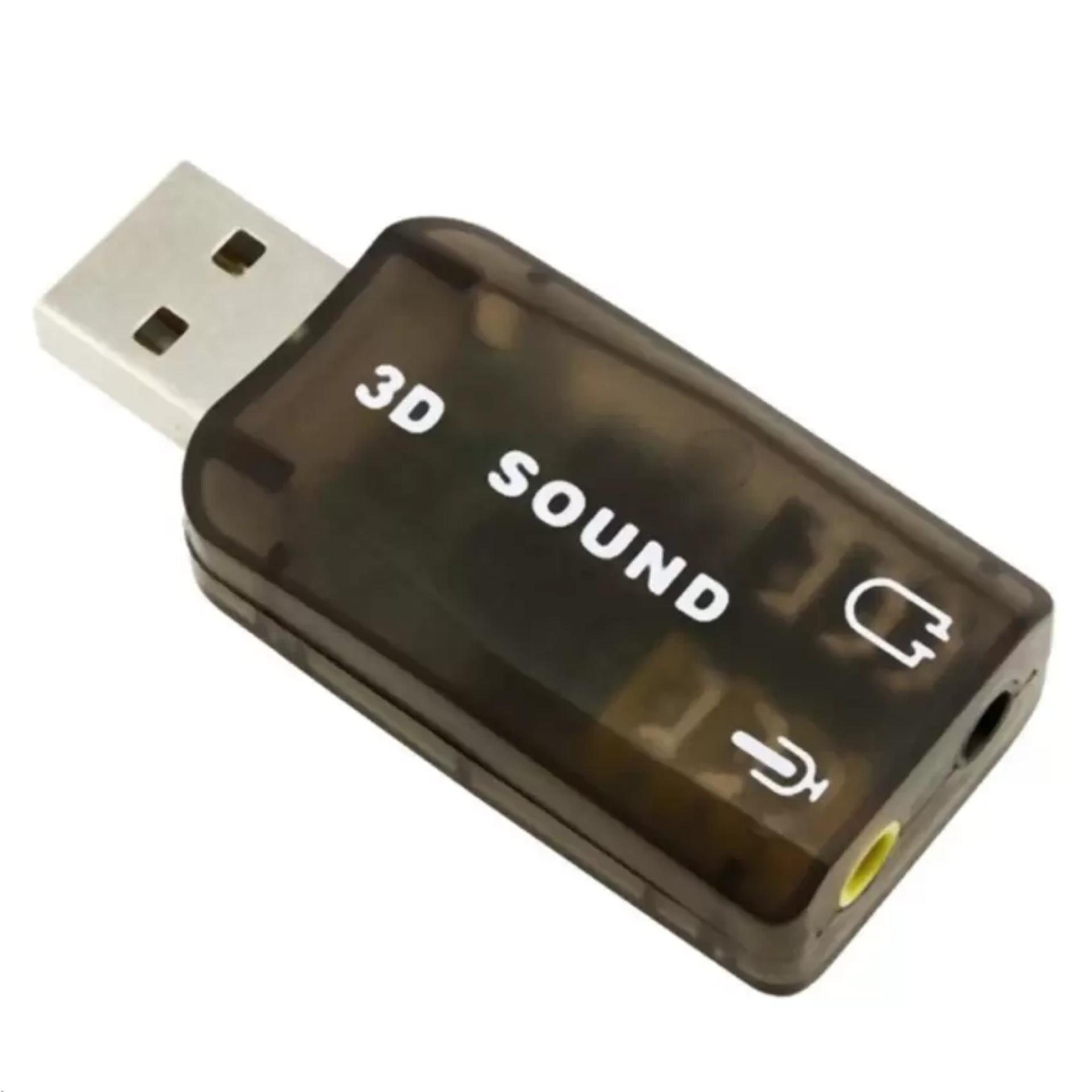USB sound 3D 5.1 PhúcAn (Đen)