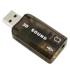 USB sound 3D China (Đen)