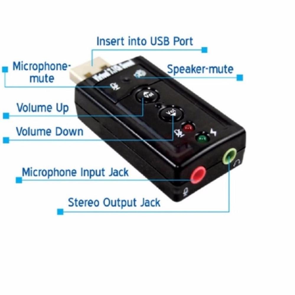 USB sound âm thanh 7.1 PGH mới.