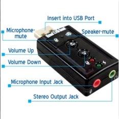 USB sound âm thanh 7.1 thế hệ mới.