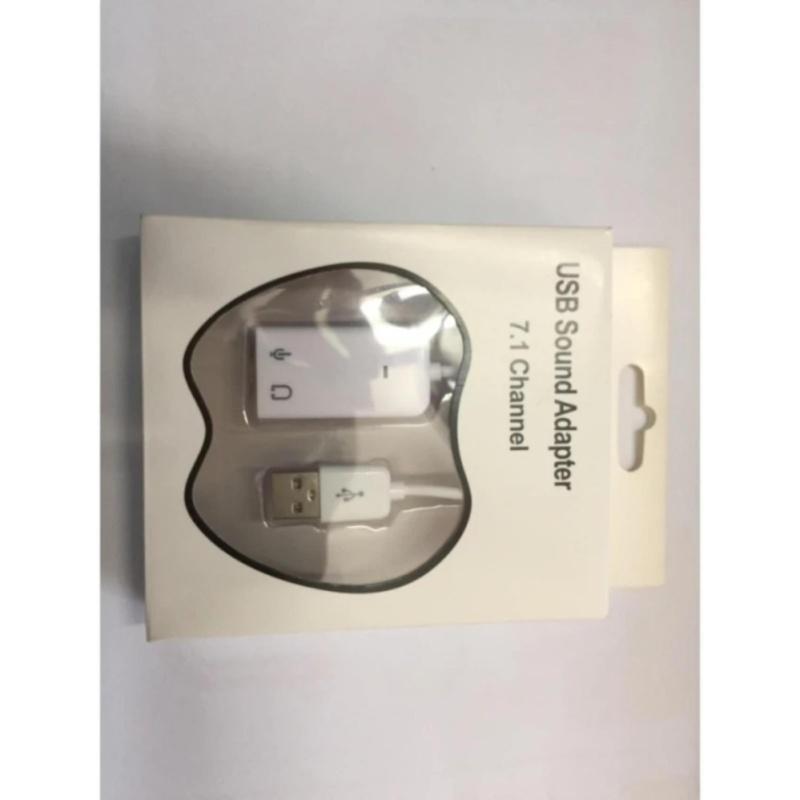 Bảng giá USB Sound cho laptop, PC 7.1 Channel (Trắng) Phong Vũ