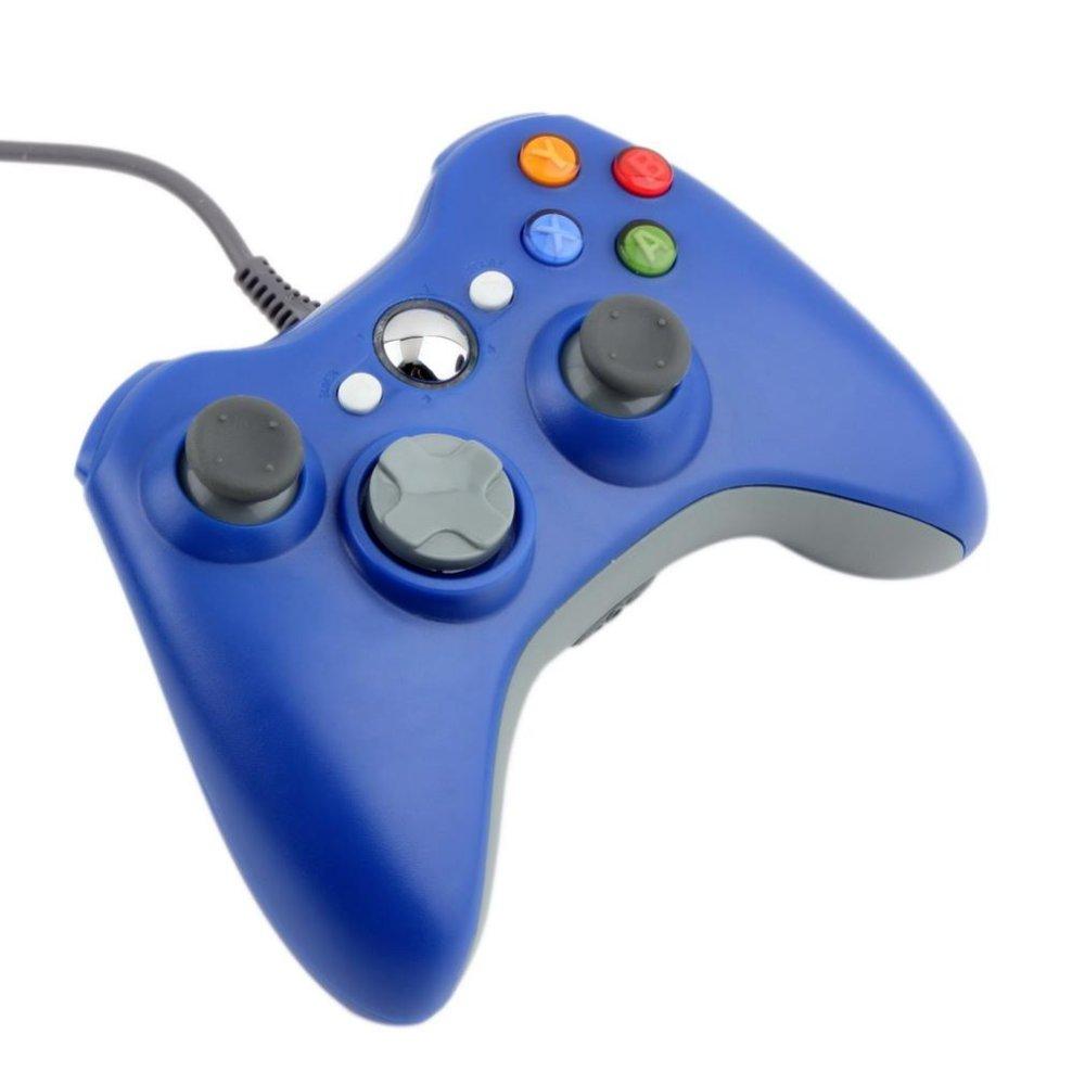 Giá USB Wired Joypad Gamepad Controller For Microsoft Xbox And Slim 360 PC Windows 7 (Purple) – Intl
